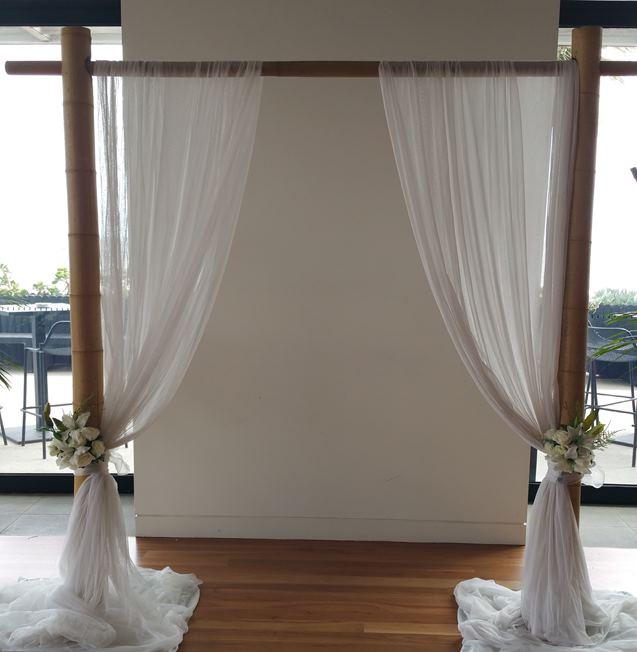 Bamboo Wedding arbour