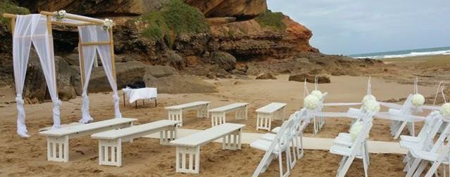 Melbourne Wedding ceremony on the beach