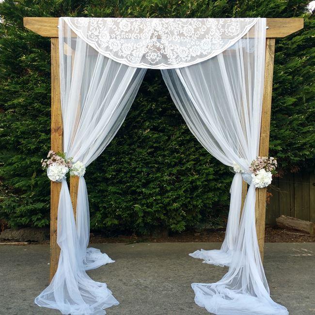 Melbourne wedding arch hire