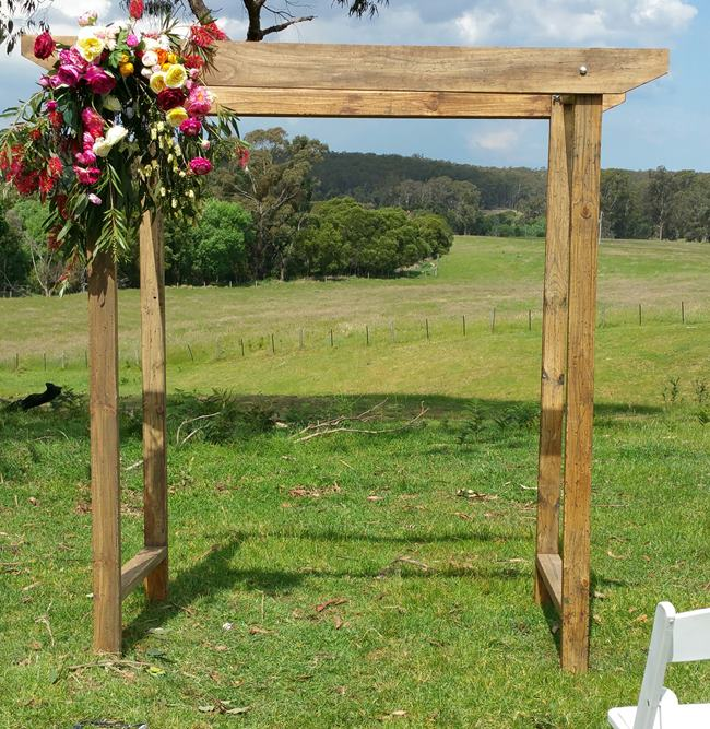 Country Wedding Arches