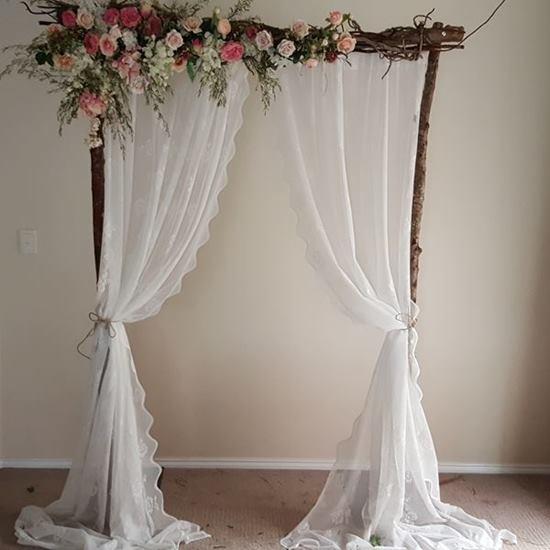 Vintage wedding arbour Melbourne