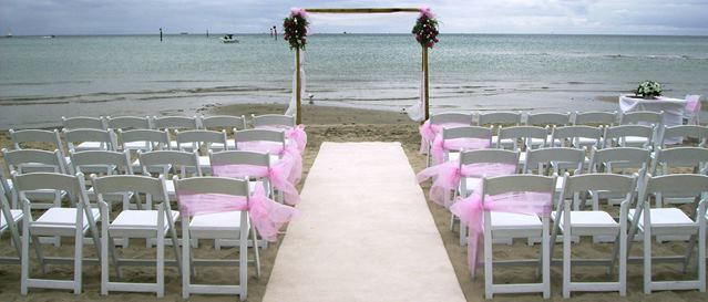Beach wedding locations Melbourne, Brighton Beach