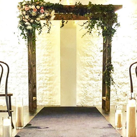 Wedding arch with Ivy