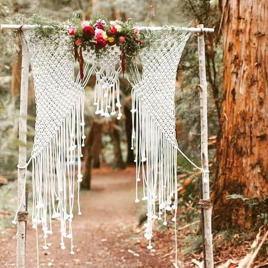 Macrame weddings