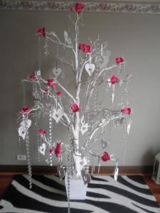 White wedding wish tree melbourne