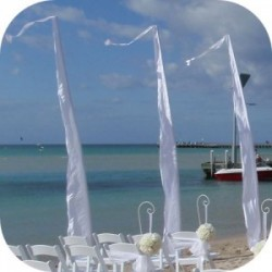 Bali wedding flags for hire
