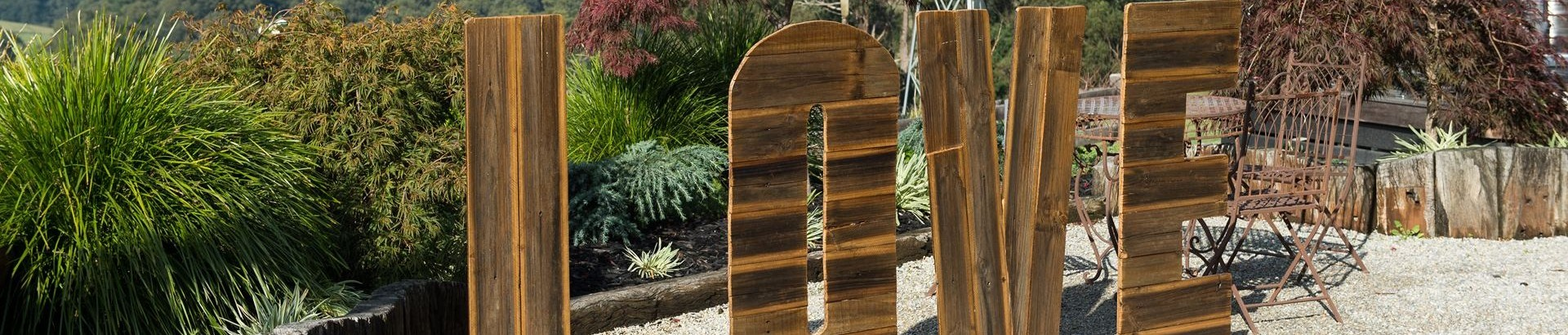 Large Giant wooden Love Letters