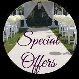 wedding discounts specials