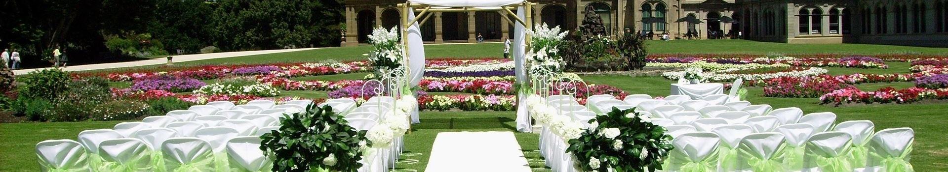 Garden Weddings Melbourne Ceremony Decor Hire