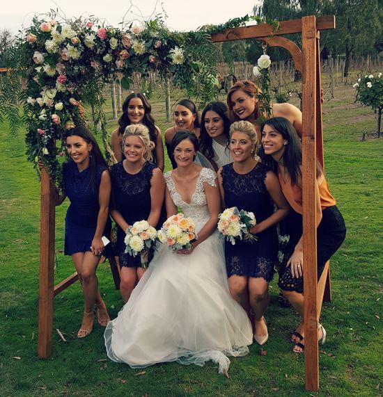 Wedding swing photo prop