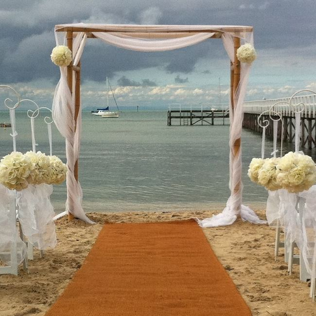 Bamboo Wedding Arch Hire