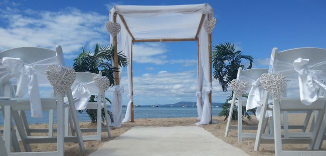 Bamboo Wedding canopy hire Melbourne