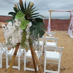 hire bamboo wedding tripods tripods