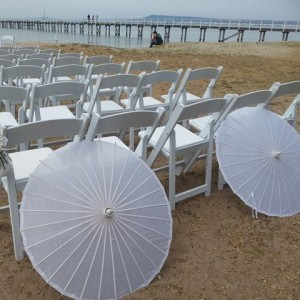 wedding parasols melbourne