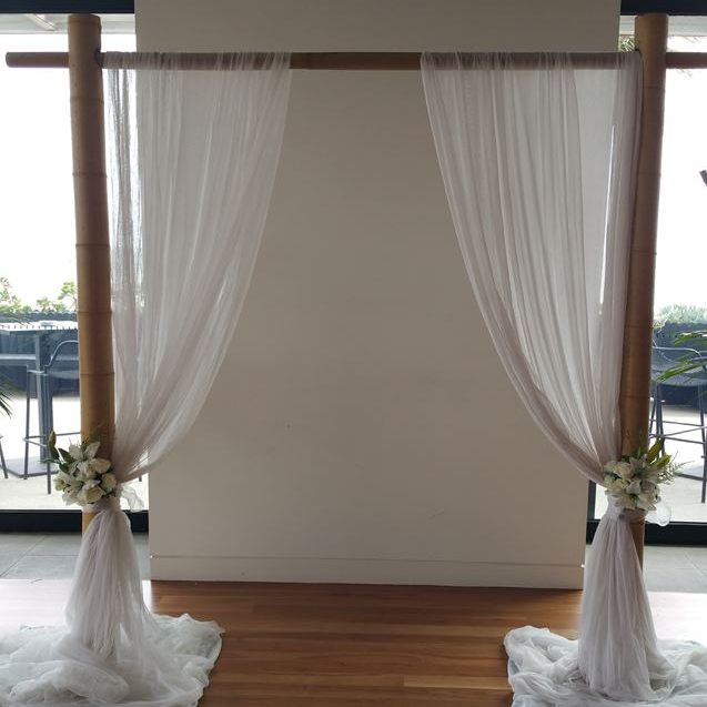 Bamboo Wedding arbour
