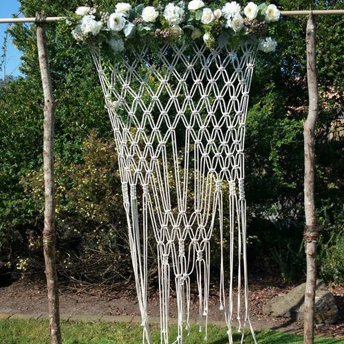 Marcame wedding arch hire