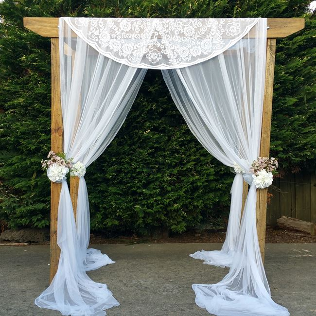Melbourne wedding arch hire