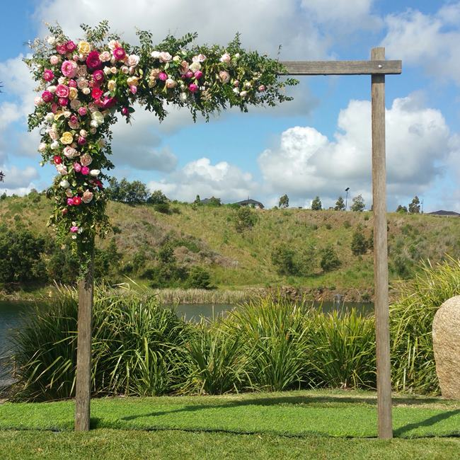 Country Rustic Wedding Altars: Wedding Arch Hire -Backdrops-Arbours Weddings Melbourne