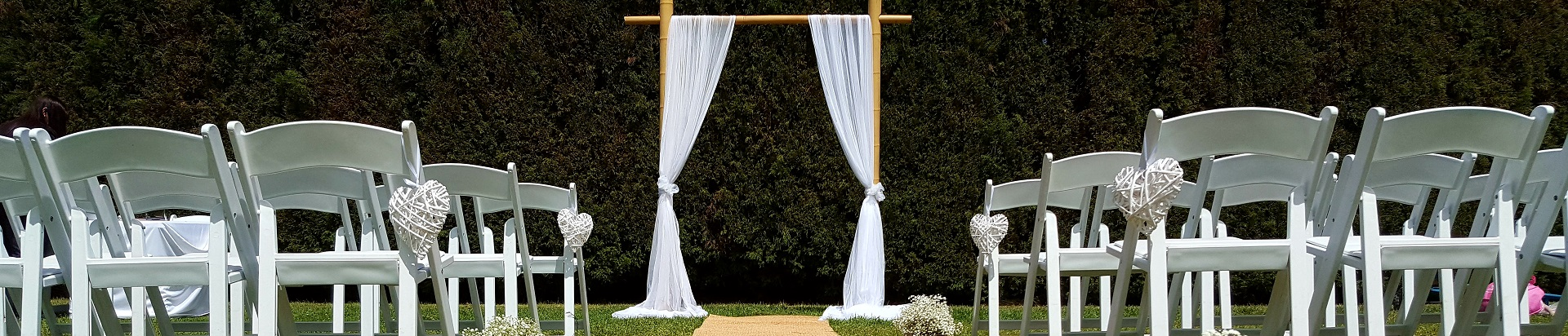 Wedding hire decorations event hire melbourne products for hire junglespirit Choice Image