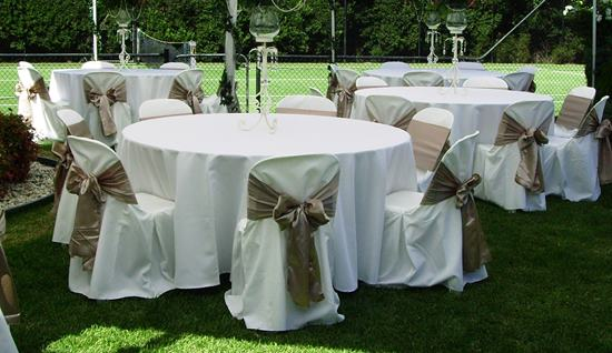 Round wedding Tables for hire