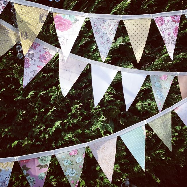 Wedding Bunting flags melbourne