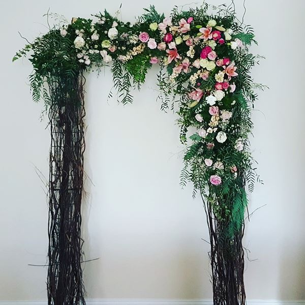 Willow arbour for hire
