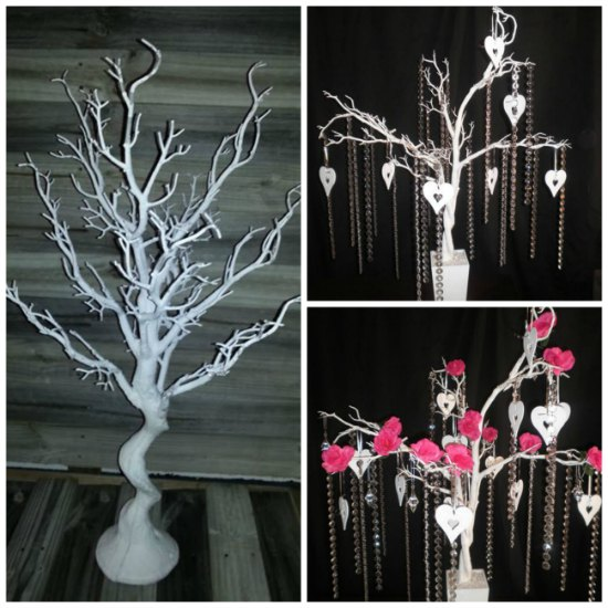 whte wedding tree hire