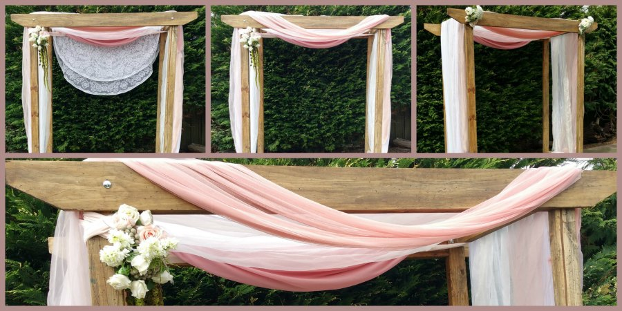 Timber wedding arch hire melbourne