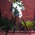 bamboo wedding tripods
