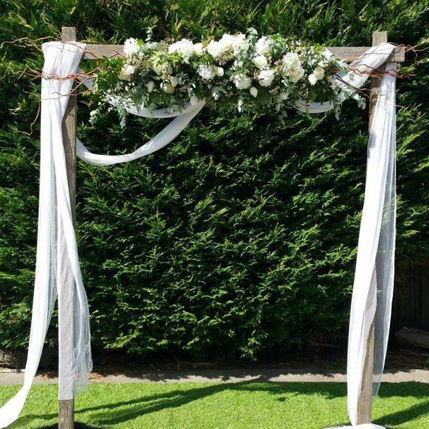 Wedding arch melbourne