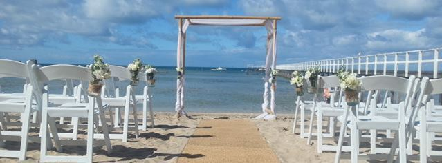 Beach wedding locations Melbourne victoria