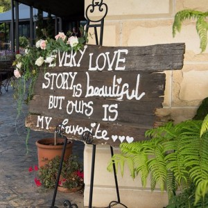wedding sign wedding hire melbourne