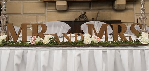 Mr and Mrs Sign hire