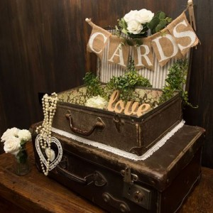 suitcase wishing well hire