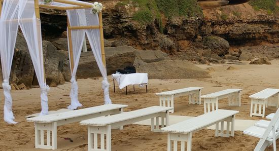 wedding chair hire bench seats