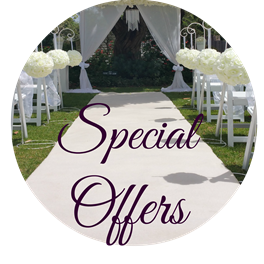 wedding discounts specials