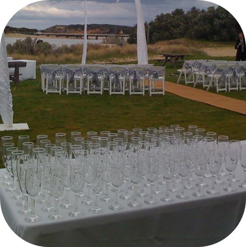 wedding refreshment packages and ceremony drinks