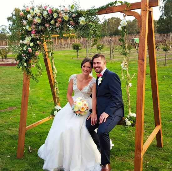 Wedding swing hire