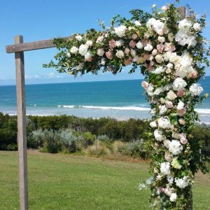 wooden wedding arbour hiremelbourne