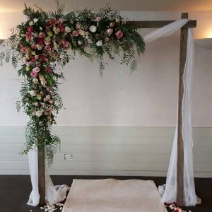 Rustic wedding hire