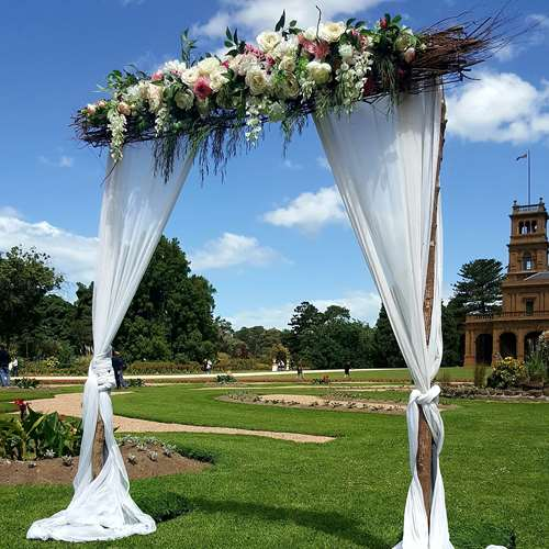 Wedding Arch Decorations Hire: Natural Wedding Arbours And Arches Melbourne- Wedding Hire