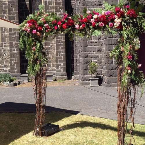 Wedding arbour hire Melbourne