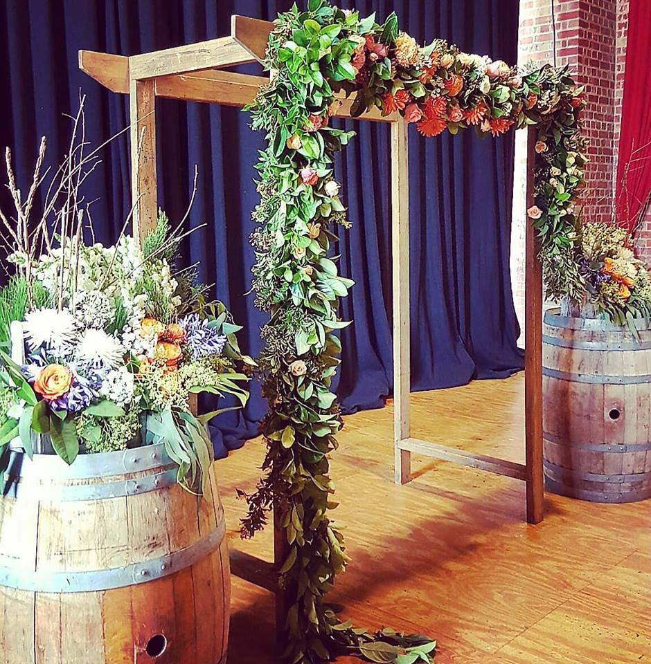 Wooden Wedding Arch: Wedding Arch Hire -Backdrops-Arbours Weddings Melbourne